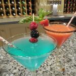 Spring martinis