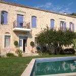 Villa Kerasia and its pool