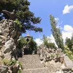 gaudi gardens - pobla de lillet, catalonia