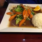 Stir fry Veggies with Soy sauce