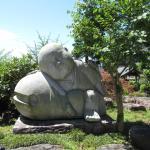 お庭の大きなオブジェクト