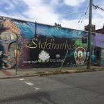 Graffiti along Commercial