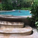 One of the 3 pools...Salt water...so nice