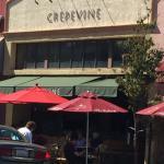 Exterior of Crepevine, Burlingame, CA