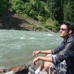 Near river Neelum valy at AJK