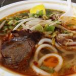 Spicy beef pho
