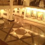 Centrale hal van het museum