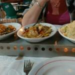 Set meal food