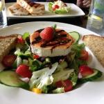 Goats Cheese and Strawberry Salad