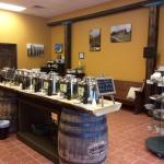 Town Square Olive Oil is a tasting gallery with over 60 flavors of olive oil, balsamic vinegars