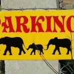 Cool Parking Sign