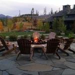 Firepit High Lonesome Lodge