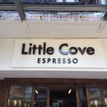 Little Cove Espresso sign