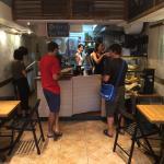 Little Cove Espresso - order counter and seats