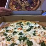 Pizza for take out dinner
