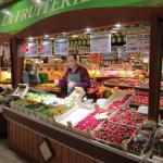 Excellent selection of fresh fruit......