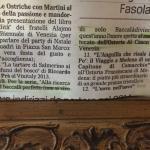 Articolo sul Gazzettino