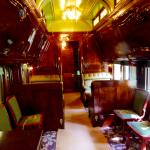 Interior of Pullman car the Sunbeam