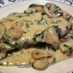 Delicious Chicken Florentine- a favorite
