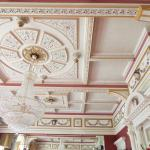 Beautiful  Ceilings  in the main Dining Room