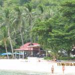 вид отеля с моря