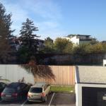 Blick auf Parkplatz