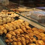 Just some of the pastry selection
