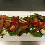Warm Roasted Veg Salad