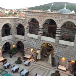 Courtyard of Kervansaray Hotel