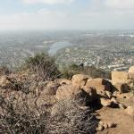 View of San Diego County from Mt. Cowles trail