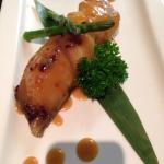 One of Matsuba's Signature  Dish 'Black Cod Saikyo-Yaki'