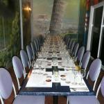 Wine Dinner seating