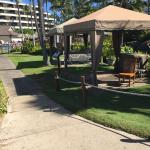 Cabana for outside services