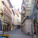 Graz - Sporgasse - Blick bergwärts