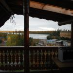 view from room in main lodge