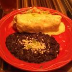Macayo Shredded Beef Burrito