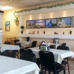 Clean and bright, just like a Greek Taverna