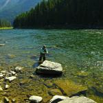 Flyfishing on the Clark Fork River