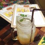 Lime Honey Soda.