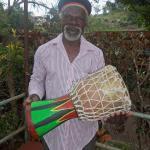 Bongo and his drumming