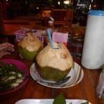 Excellent fresh coconut juice...
