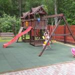 Замечательная детская площадка.