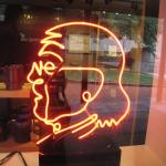 Franklin in Neon