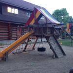 Nice playground for kids.