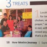We were pictured on New Mexico Journey