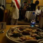Fasting (Vegetarian) Injera Platter