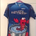 my new favorite bike jersey: lobster !!
