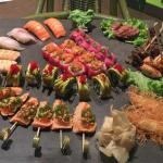 """The """"all in one"""" sushi selection"""