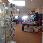 part of the shop upstairs