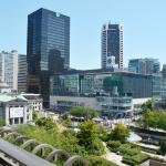 Front View of Robson Square, Pacific Centre